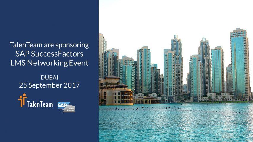 SAP SuccessFactors HR Networking Dubai