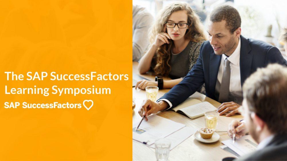 SAP SuccessFactors Learning Symposium