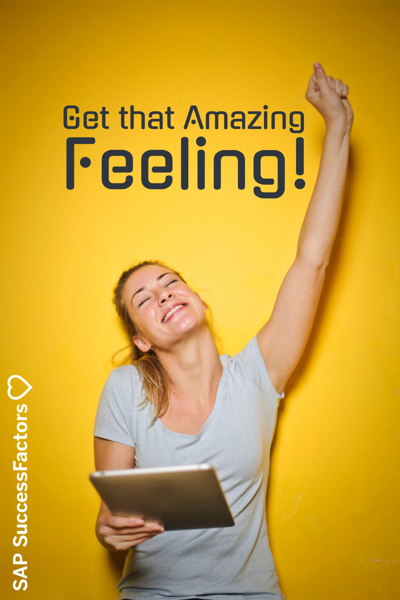 Get that amazing feeling