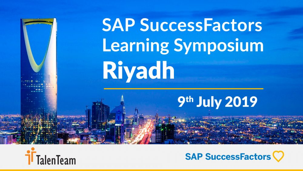 The SAP SuccessFactors Learning Symposium Riyadh