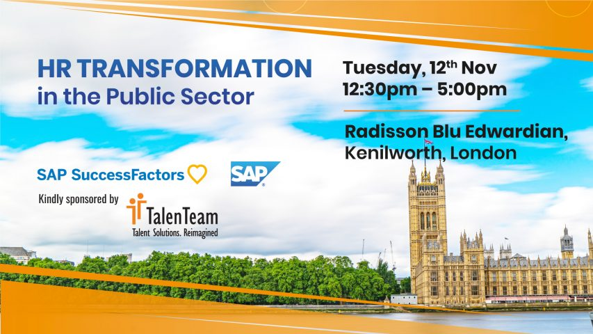 HR Transformation Public Sector Event