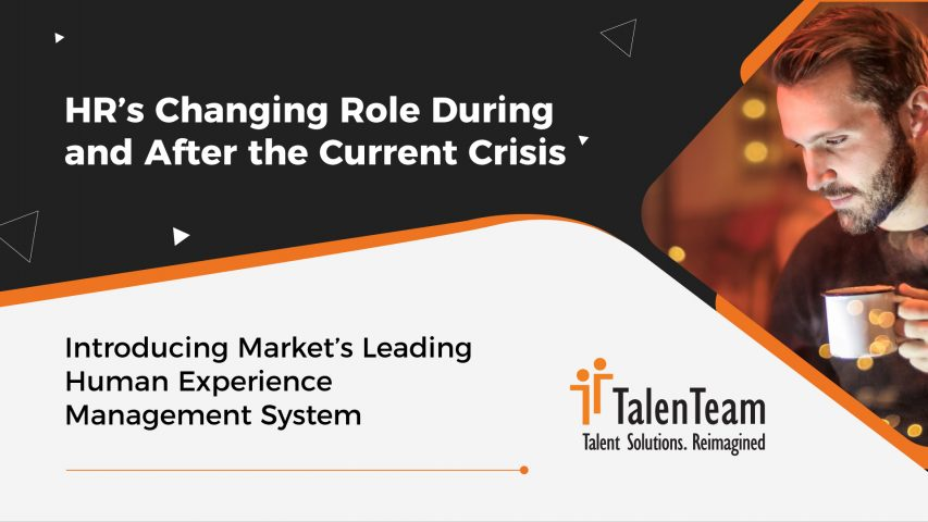 HR's Changing Role During and After the Current Crisis