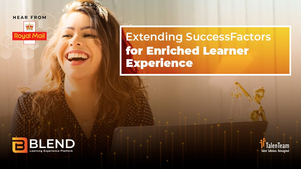 Webinar - Extending SuccessFactors for Enriched Learner Experience