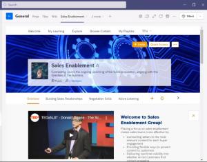 LXP Teams Integration Screen Shot